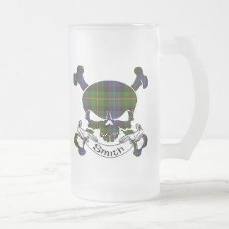 Smith Tartan Skull Mugs