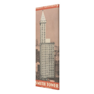 Smith Tower, Seattle's Observatory Canvas Print