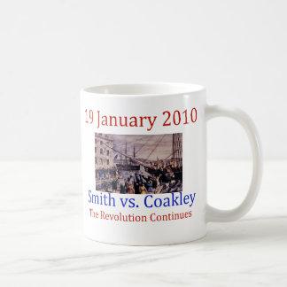 Smith vs Coakley Classic White Coffee Mug
