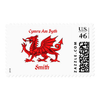Smith Welsh Dragon Stamp