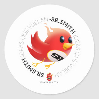 SmithBrand! products Classic Round Sticker