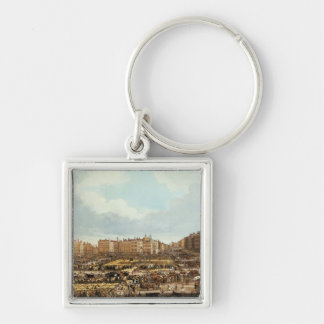 Smithfield Market, engraved by R.G. Reeve Keychain