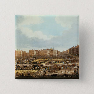 Smithfield Market, engraved by R.G. Reeve Pinback Button