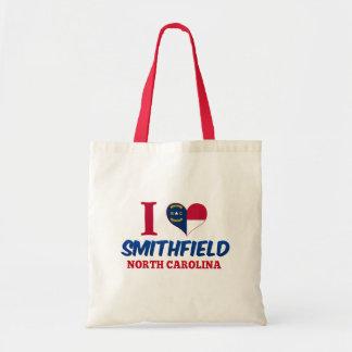 Smithfield, North Carolina Canvas Bags