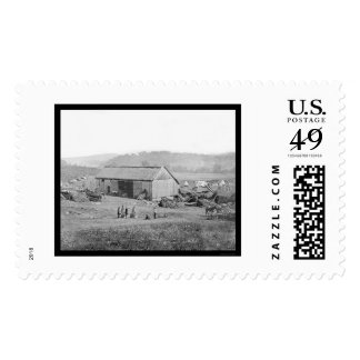 Smith's Barn and Hospital in Keedysville, MD 1862 Postage Stamp