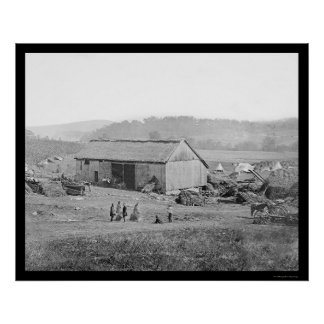 Smith's Barn and Hospital in Keedysville, MD 1862 Poster