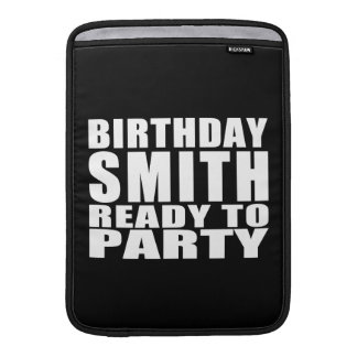 Smiths : Birthday Smith Ready to Party MacBook Air Sleeve