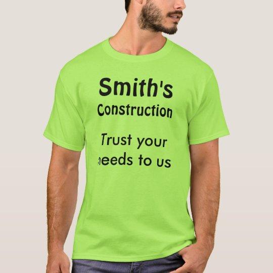 Smith's construction T-Shirt