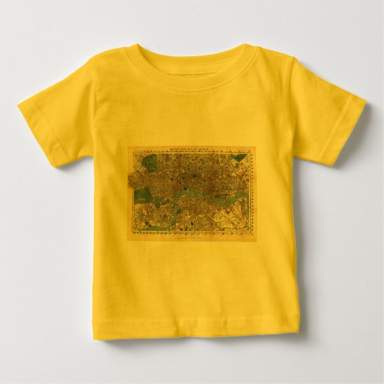 Smith's new map of London 1860 Baby T-Shirt
