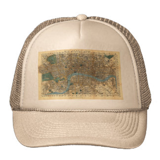 Smith's new map of London 1860 Trucker Hat