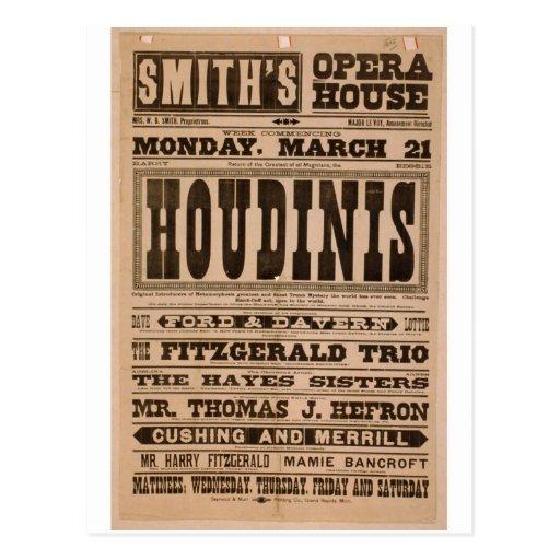 Smith's, 'Opera House', Cushing and merrill Postcard