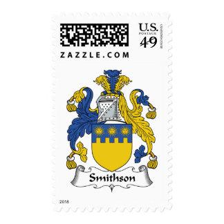 Smithson Family Crest Stamp