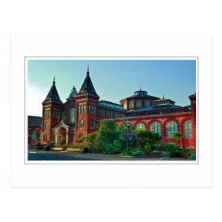 Smithsonian: Arts and Industries Building Postcard