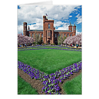 Smithsonian Castle and Haupt Garden Card