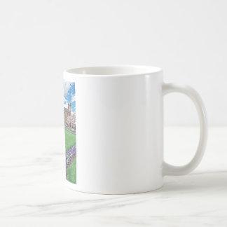 Smithsonian Castle and Haupt Garden Classic White Coffee Mug