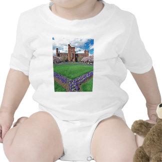 Smithsonian Castle and Haupt Garden Baby Bodysuit