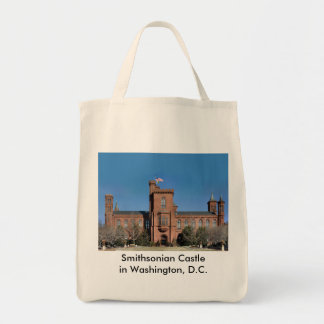 Smithsonian Castle in Washington, D.C. Tote Bag