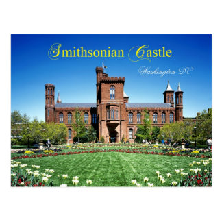 Smithsonian Castle, Washington DC Postcard
