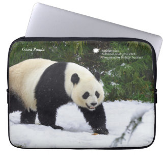 Smithsonian | Giant Pandas In The Snow Laptop Sleeve