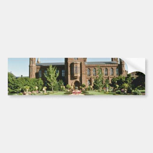 Smithsonian Institute and Enid Haupt Garden Bumper Stickers