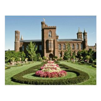 Smithsonian Institute and Enid Haupt Garden Postcard
