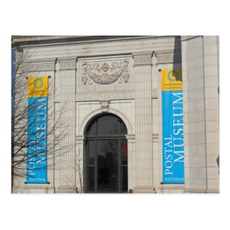 Smithsonian National Postal Museum Washington DC Postcard