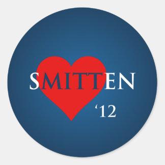 Smitten by Romney <3 Classic Round Sticker