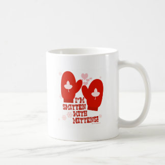 Smitten with Mittens Classic White Coffee Mug