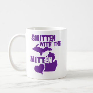Smitten with the mitten classic white coffee mug