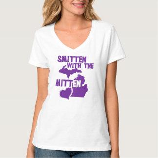 Smitten with the mitten tee shirt