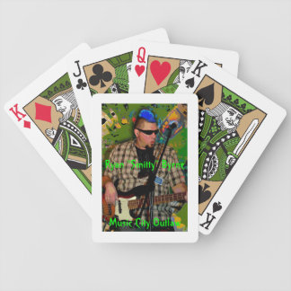 Smitty - Music City Outlaw Bicycle Playing Cards