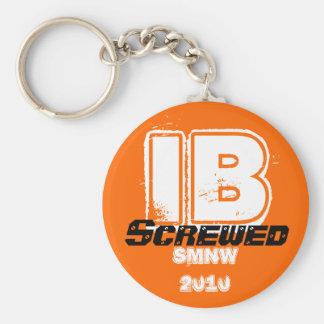 smnw ib 2010 basic round button keychain
