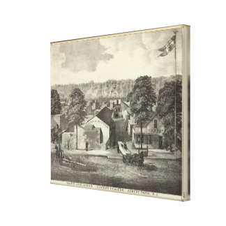 Smock & Buchanon, lumber dealers, Asbury Park, NJ Canvas Print