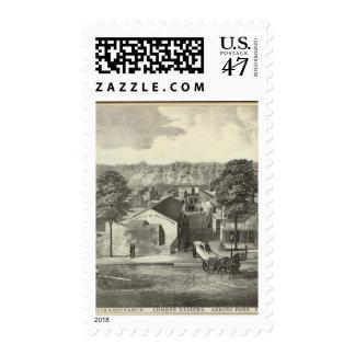 Smock & Buchanon, lumber dealers, Asbury Park, NJ Postage