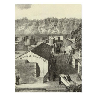 Smock & Buchanon, lumber dealers, Asbury Park, NJ Postcard