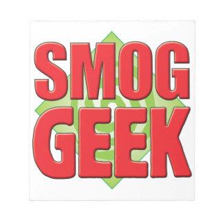 Smog Geek v2 Memo Pad