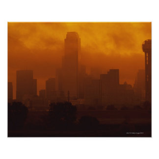 Smog in the City Poster