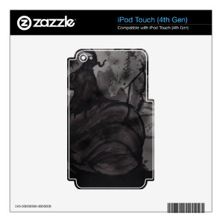 Smog music player skins iPod touch 4G skin