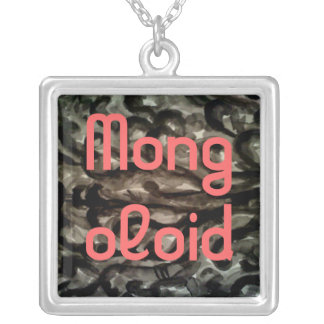 Smogy Fog Mongoloid Silver Plated Necklace