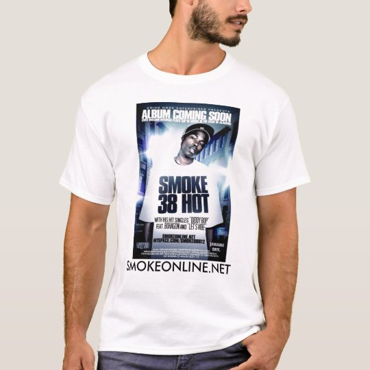 SMOKE 38 HOT T-SHIRT