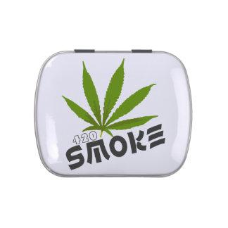 Smoke 420 jelly belly tin