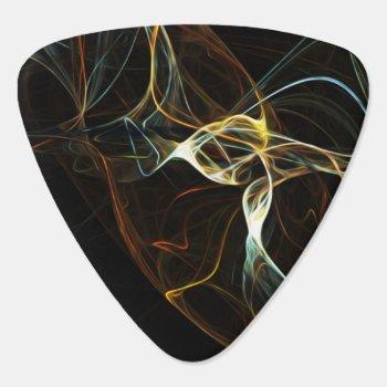 Smoke Abstract Art Guitar Pick by MannzGuitarPicks at Zazzle