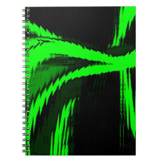 smoke and ashes spiral notebook