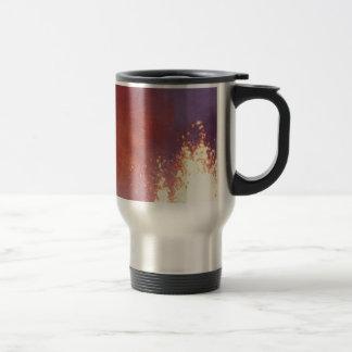 smoke and fire travel mug