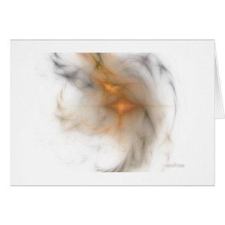 Smoke and Flame Card