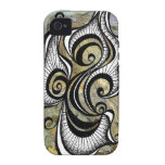 Smoke and Mirrors iPhone4 case Vibe iPhone 4 Cover