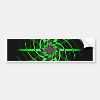 Smoke art photography bumper sticker