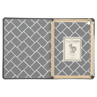 Smoke Basket Weave iPad Air Cover