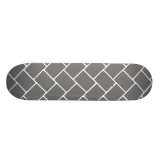 Smoke Basket Weave Skateboard Deck