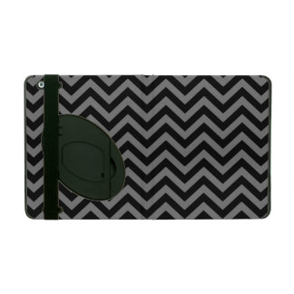 Smoke Chevron 2 iPad Case